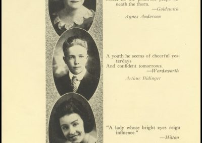 Patterson High Class of 1921 - Page 1