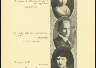 Patterson High Class of 1921 - Page 2