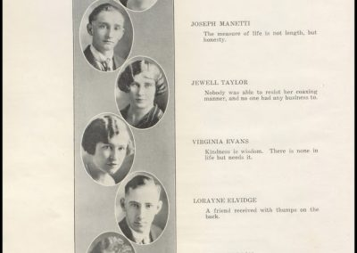 Patterson High Class of 1925 - Page 1