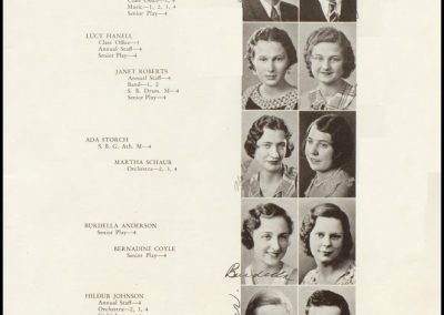 Patterson High Class of 1933 - Page 1