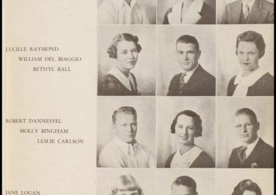 Patterson High Class of 1935 - Page 1