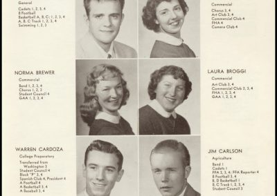 Patterson High Class of 1954 - Page 2