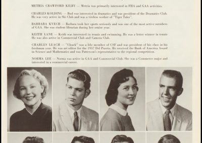 Patterson High Class of 1957 - Page 4